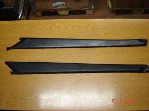Dörrklädsel invändig vänster. Sonett III. Art nr 7419393 Dörrklädsel invändig höger. Sonett III. Art nr 7419385
